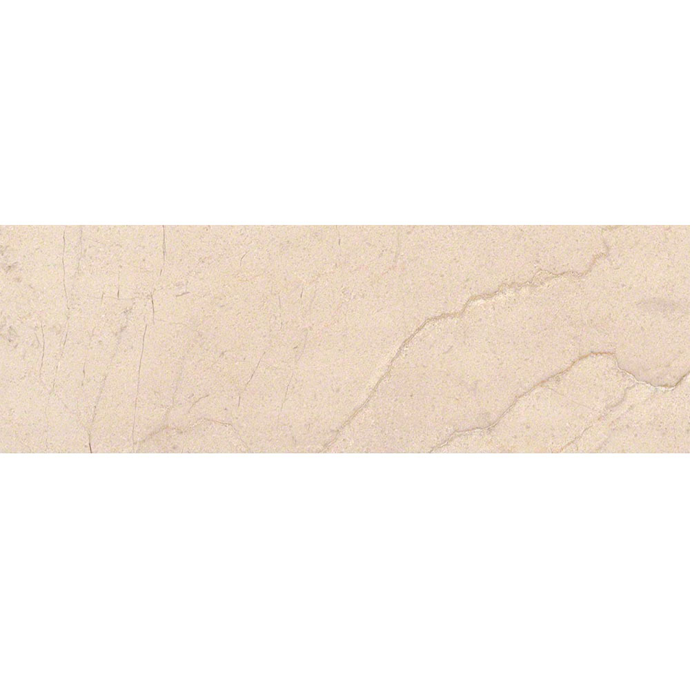 MS International Marble 4 x 12 Polished Crema Marfil