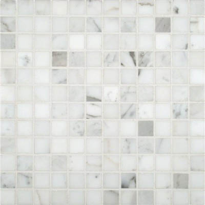 MS International Marble Mosaics 1 x 1 Polished Calacatta Gold Polished