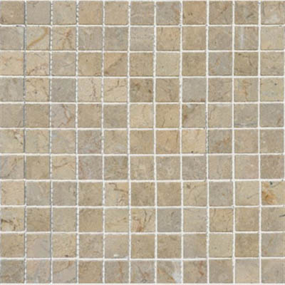 MS International Marble Mosaics 1 x 1 Polished Sahara Gold Polished