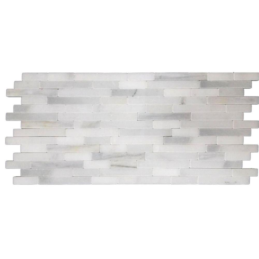 MS International Marble Mosaics Other Greecian White Veneer