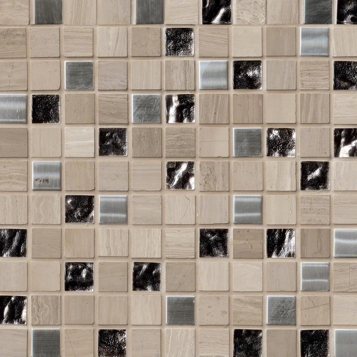 Ms international decorative blends mosaic 1 x 1 tile for International decor tiles