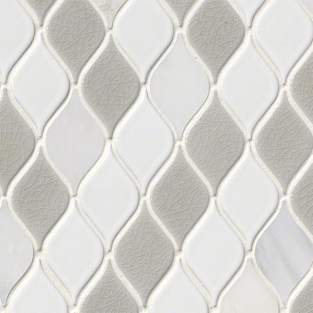 Ms international decorative blends mosaic other cresta blanco for International decor tiles