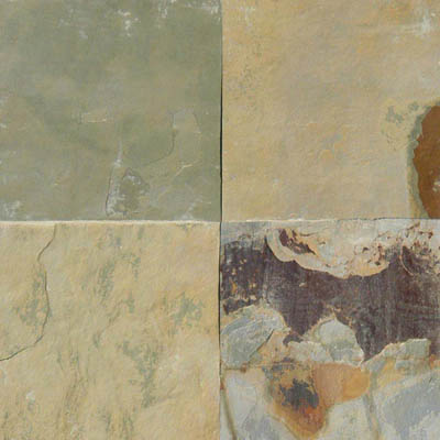 MS International Slate and Quartzite 16 x 16 Gauged Autumn Desert