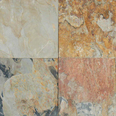 MS International Slate and Quartzite 16 x 16 Gauged Autumn