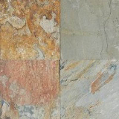 MS International Slate and Quartzite 16 x 16 Gauged Autumn Blend