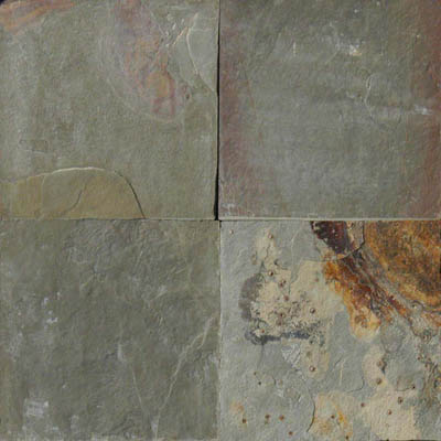 MS International Slate and Quartzite 16 x 16 Gauged Earth Slate