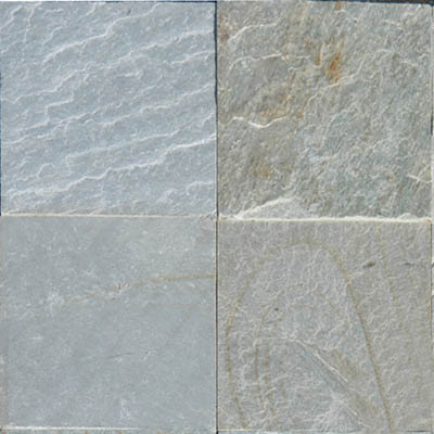 MS International Slate and Quartzite 16 x 16 Gauged Ice White