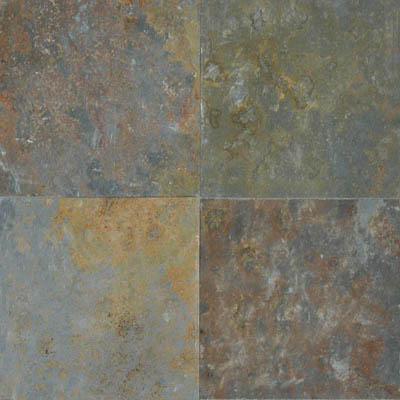 MS International Slate and Quartzite 16 x 16 Gauged San Rio Rustic