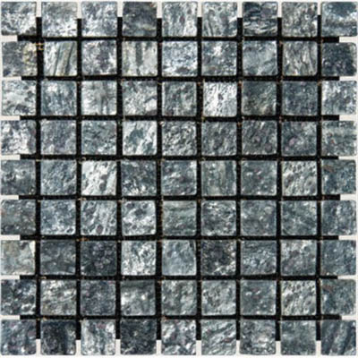MS International Slate and Quartzite Mosaic 1 X 1 Ostrich Grey