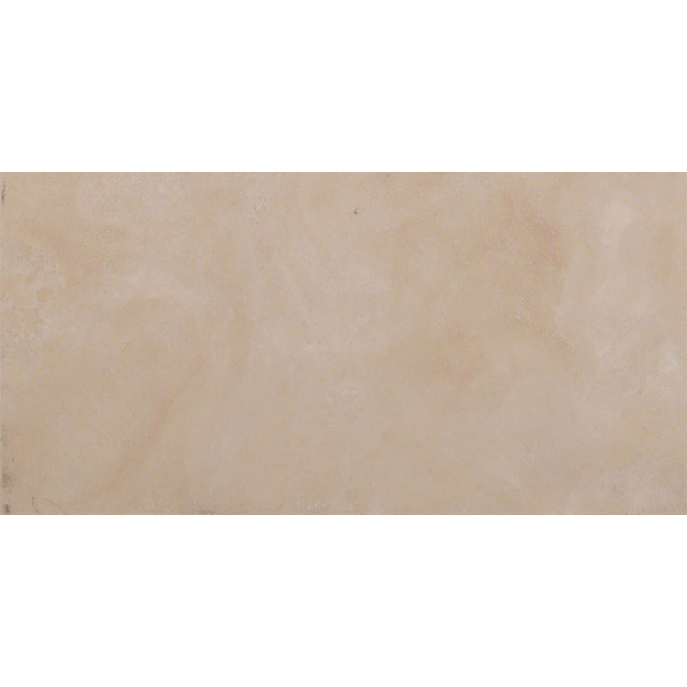 MS International Travertine 12 x 24 Honed Filled Durango Cream