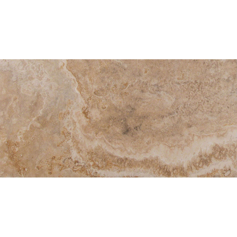 MS International Travertine 12 x 24 Honed Filled Inca Blend