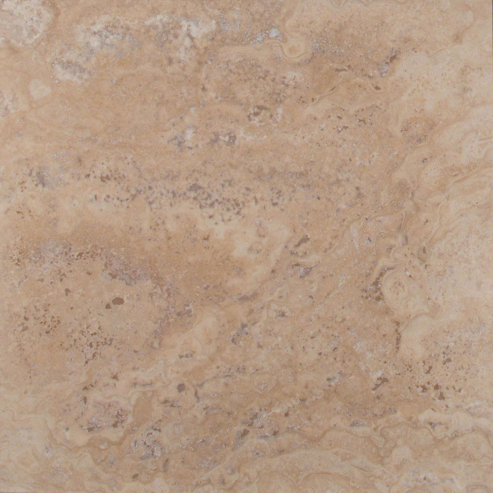 Ms International Travertine 18 X 18 Honed Filled Tile