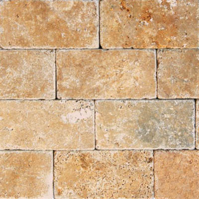 Ms International Travertine 3 X 6 Tumbled Tile Amp Stone Colors