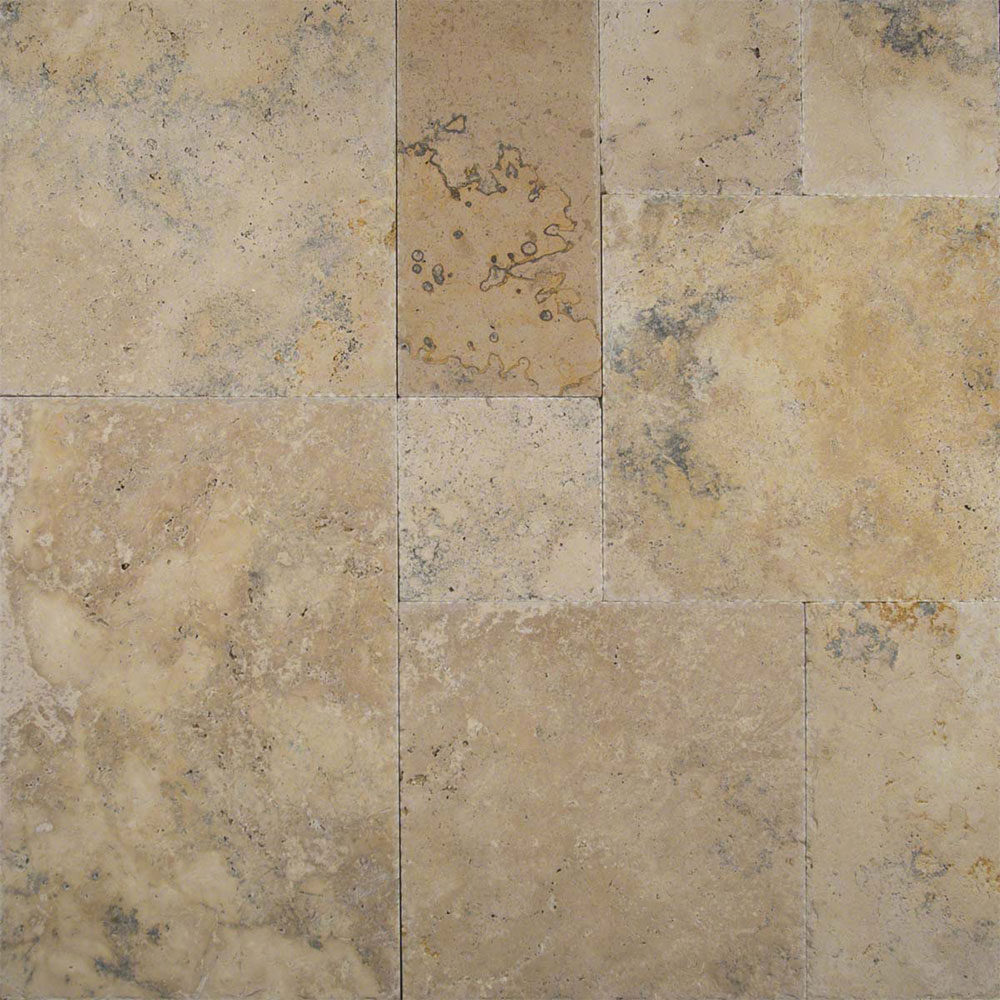 Ms International Travertine Versailles Honed Unfilled