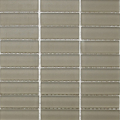 Maestro Mosaics Crystal Glass Frosted Mosaic Taupe M232