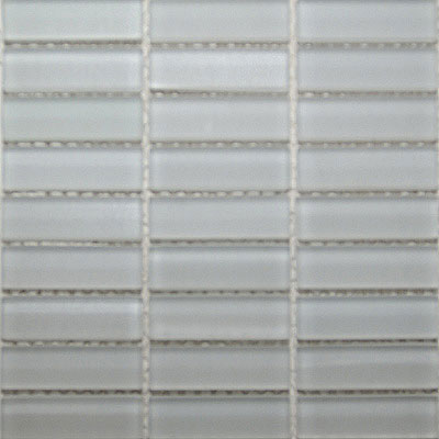 Maestro Mosaics Crystal Glass Frosted Mosaic White M018