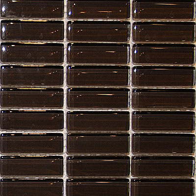 Maestro Mosaics Crystal Glass Mosaic Warm Brown A230