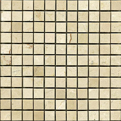 Maestro Mosaics Marble 5/8 x 5/8 Mosaic Polished Crema Light