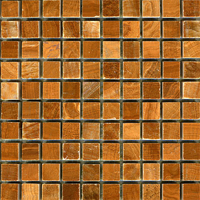 Maestro Mosaics Marble 5/8 x 5/8 Mosaic Polished Timber