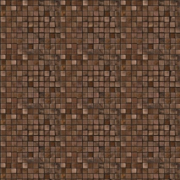 Mannington Accent Gallery Glass & Stone Blends 1 x 1 Mosaic Antique Copper A07MMM