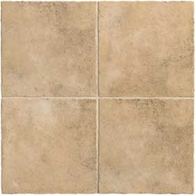 Mannington Tuscan Valley 18 X 18 (Dropped) Porcelain Beige TV1T18
