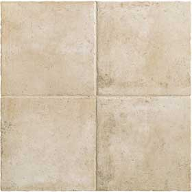 Mannington Tuscan Valley 6 X 6 (Dropped) Oyster White TV2T06