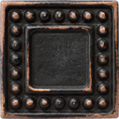 Marazzi Romance Collection Dot Insert 1 x 1 Dot 1x1 Insert Venetian Bronze UJ7C