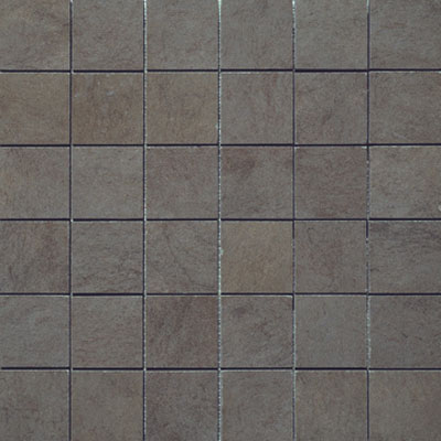 Marazzi Stone Collection Mosaic Square 2 X 2 Stone Anthracite M54W