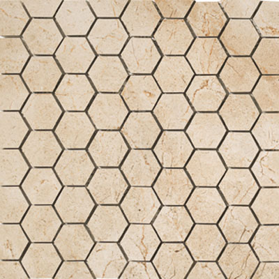 Marazzi Timeless Collection Mosaic (1 3/4 x 1 1/2 Hexagon) Marfil Cream UK2W