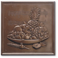Marazzi Metalli Border 3 x 12 (wrong images) Fruit Medley Wall Autumn Bronze UB3A
