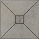 Marazzi Metalli Border 4 x 12 (wrong images) Modern Floor Brushed Nickel UAM3