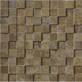 Marca Corona Re-Action Mosaic Green 3956 MCTREGRBRICK1212