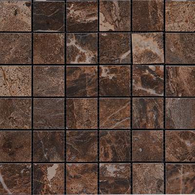 Megatrade Corp. Thrill Natural Finish Mosaico 13 x 13 Rock 4754