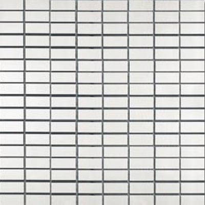 Metal Border Pure Metal Brick Mosaic 1 x 2 Satin MTLMBM314SATIN