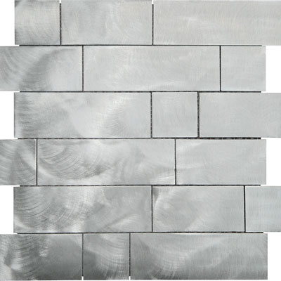 Metal Border Pure Metal Kios Mosaic Graffiato/Brushed MTLMBM316KIOSGRA