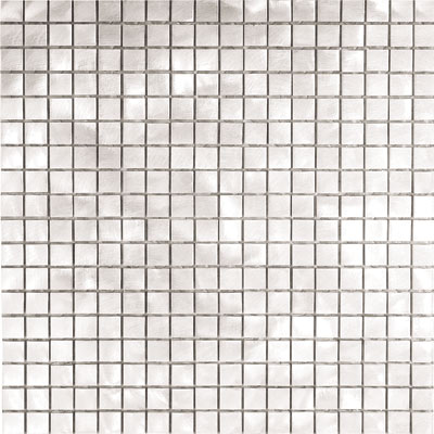 Metal Border Pure Metal Mosaic .5 x .5 Graffiato/Brushed MTLMBM301GRAFFIA