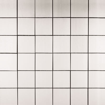 Metal Border Pure Metal Mosaic 2 x 2 Satin MTLMBM304SATIN