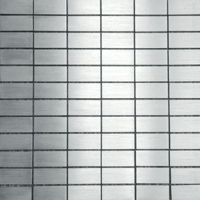 Metal Border Pure Metal Subway Mosaic Levigato/Sanded MTLMBM315SUBLEVI