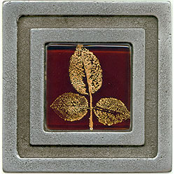 Miila Studios Aluminum Milan 4 x 4 Milan With Small Leaves