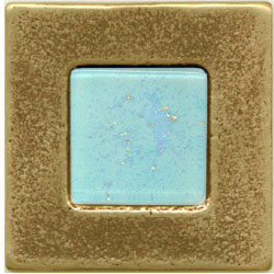 Miila Studios Bronze Barcelona 2 x 2 Barcelona With Light Teal