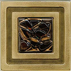 Miila Studios Bronze Milan 4 x 4 Milan With Earth Crystal