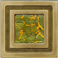 Miila Studios Bronze Milan 4 x 4 Milan With Green Tiger