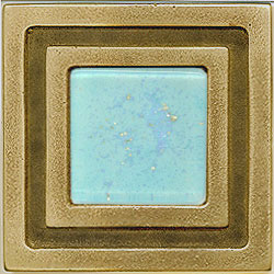 Miila Studios Bronze Milan 4 x 4 Milan With Light Teal