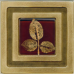 Miila Studios Bronze Milan 4 x 4 Milan With Small Leaves