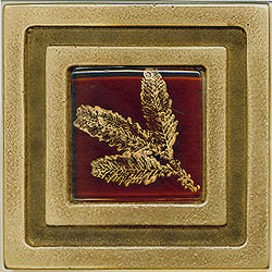Miila Studios Bronze Milan 4 x 4 Milian With Small Fern