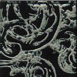 Miila Studios Glass Deco Series - Victorian 1 x 6 Black Pewter
