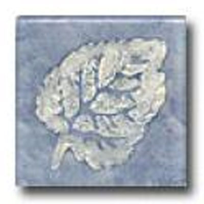 Miila Studios Elements Glass Tile 2 x 2 (Discontinued) Chestnut Blue Silver