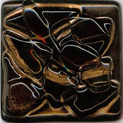 Miila Studios Stony Creek Glass Tile 1 x 8 Earth Crystal
