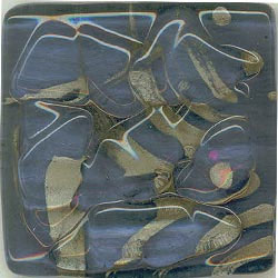 Miila Studios Stony Creek Glass Tile 4 x 4 Royal Lake
