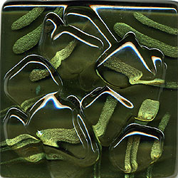 Miila Studios Stony Creek Glass Tile 2 x 8 Sea